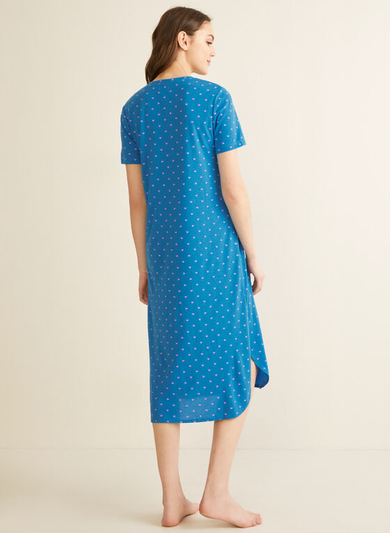 Claudel Lingerie - Night Shirt, Blue