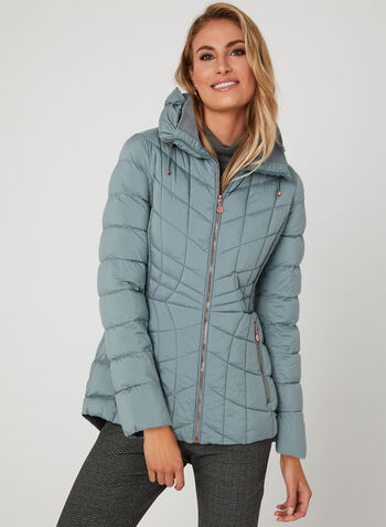 Bernardo - PrimaLoft® Thermoplume Packable Coat, Blue, hi-res