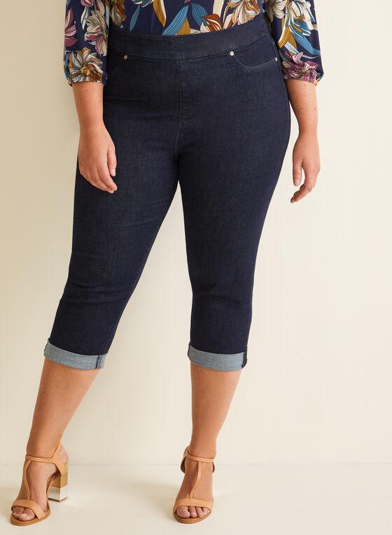 Carreli Jeans - Pull-On Denim Capris, Blue
