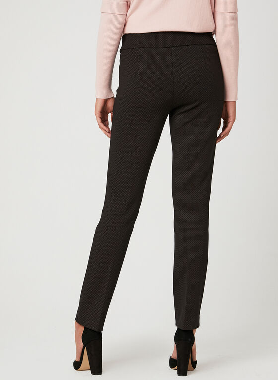 Modern Fit Slim Leg Pants, Black, hi-res
