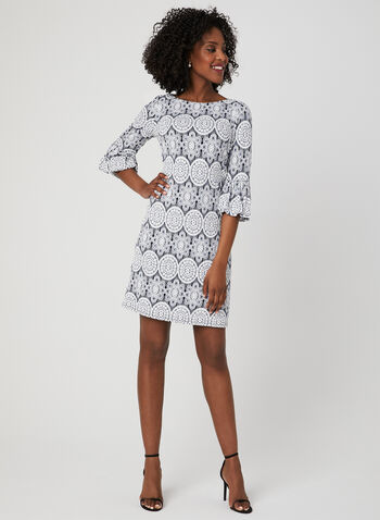 Medallion Print Shift Dress e1ed7ac33