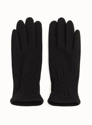 Smart Touch Knit Gloves, , hi-res