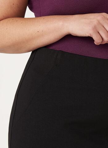 A-Line Ponte Skirt, , hi-res