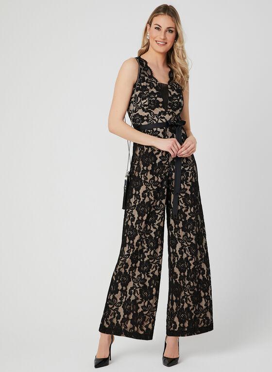 Marina - Lace Jumpsuit, Black, hi-res