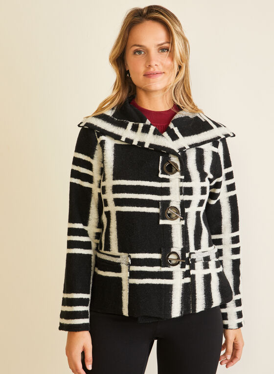 Elena Wang - Wool Blend Coat, Black