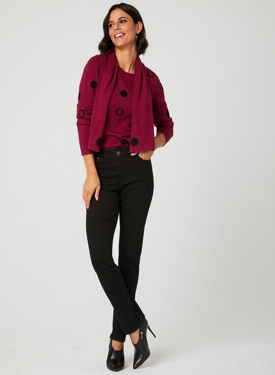 Carreli Jeans - Jean coupe signature à jambe droite, Noir, hi-res