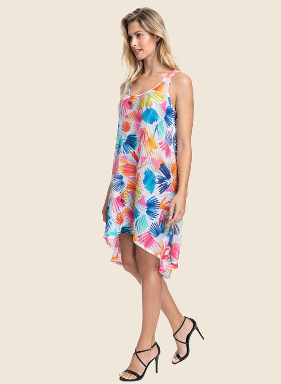 Profile by Gottex - Tropical Print Swimsuit Cover-Up, Multi