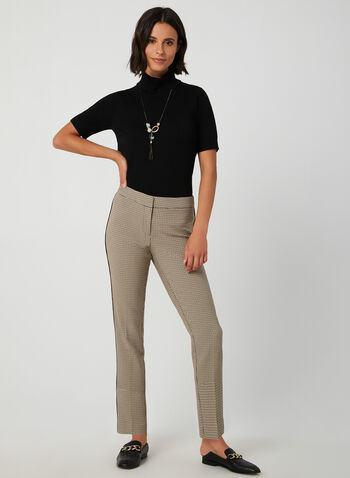 Short Sleeve Knit Top, Black,  knit, top, short sleeves, cowl neck, fall 2019, winter 2019