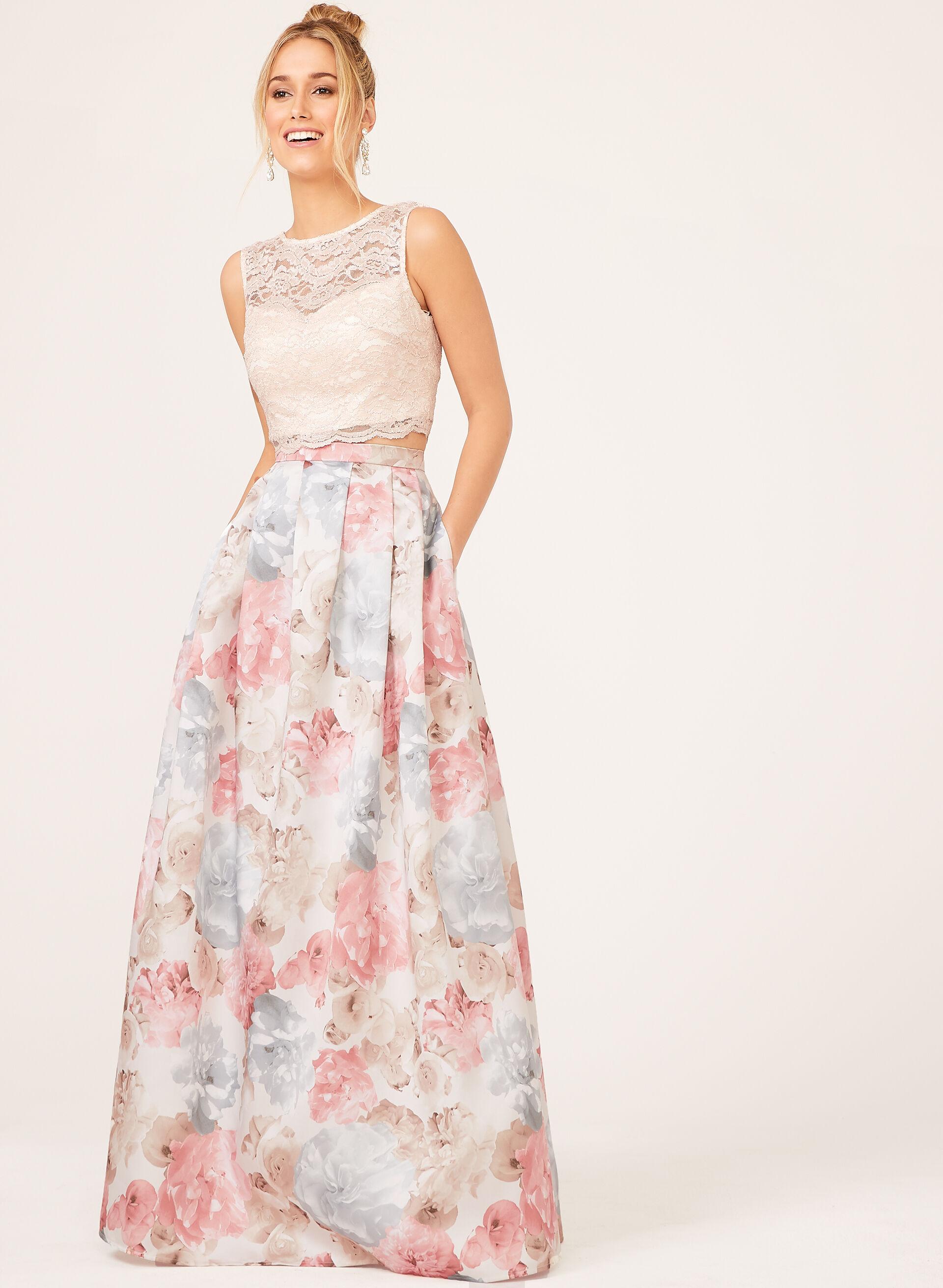 Robe rose pastel morgan