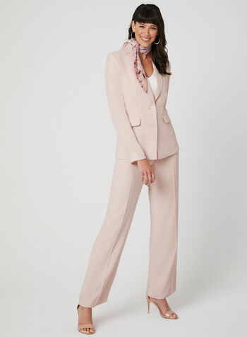 Two Button Blazer, Pink, hi-res