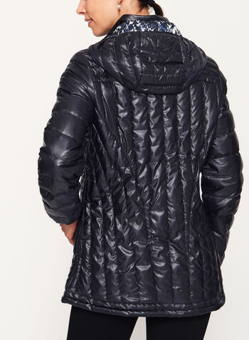 Nuage - Quilted Nylon Down Coat, Black, hi-res