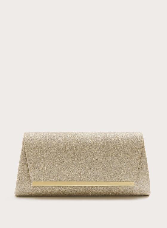 Pochette enveloppe brillante , Or, hi-res