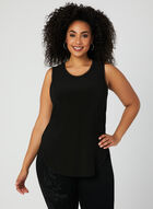 Joseph Ribkoff - Sleeveless Blouse, Black, hi-res