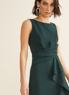 Sleeveless Mermaid Dress, Green