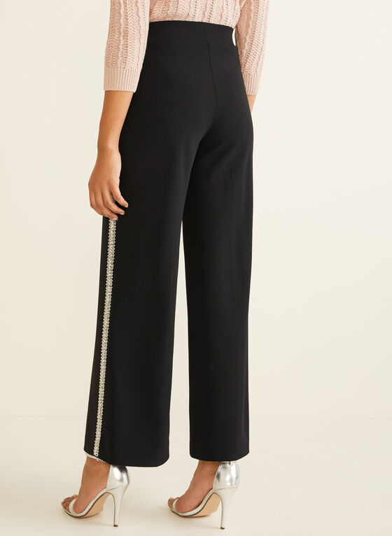 Modern Fit Wide Leg Pants, Black