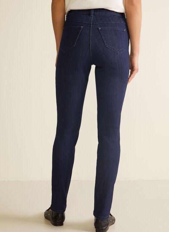 Jeans à jambe droite , Bleu