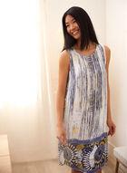Charlie B - Abstract Print Dress, White