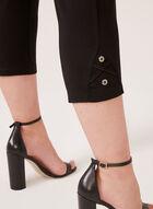 Picadilly - Capri avec détails couture, Noir, hi-res