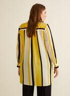 Striped Tunic Blouse, Yellow