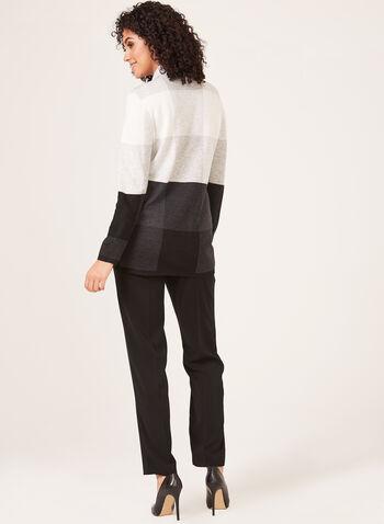Alison Sheri - Open Front Cardigan, Black, hi-res