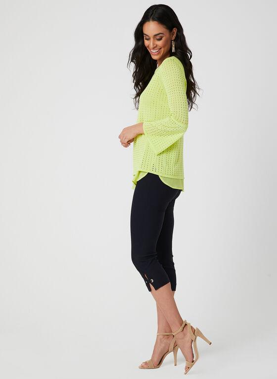 Knit Fooler Top, Green, hi-res