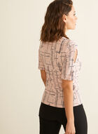 Abstract Print Top, Multi