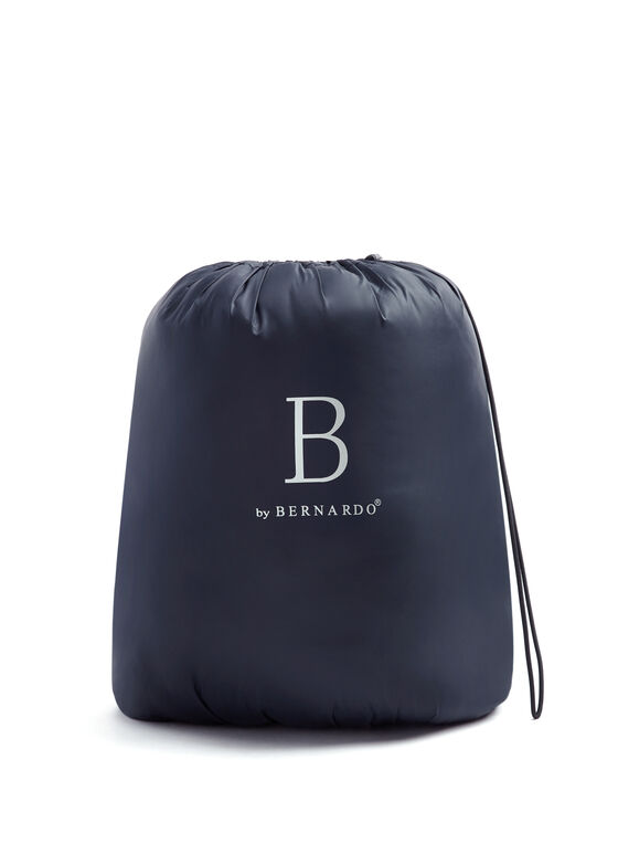 B by Bernardo - Manteau matelassé PrimaLoft® en duvet compressible, Bleu, hi-res