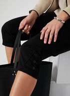 Picadilly - Straight Leg Capris, Black