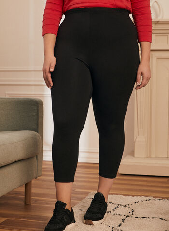 Capri Leggings , Black,  leggings, capris, short leggings, ankle leggings, spring 2020, summer 2020