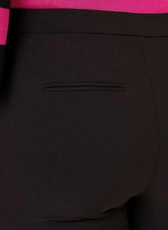 Modern Fit Slim Leg Twill Pants, Black, hi-res