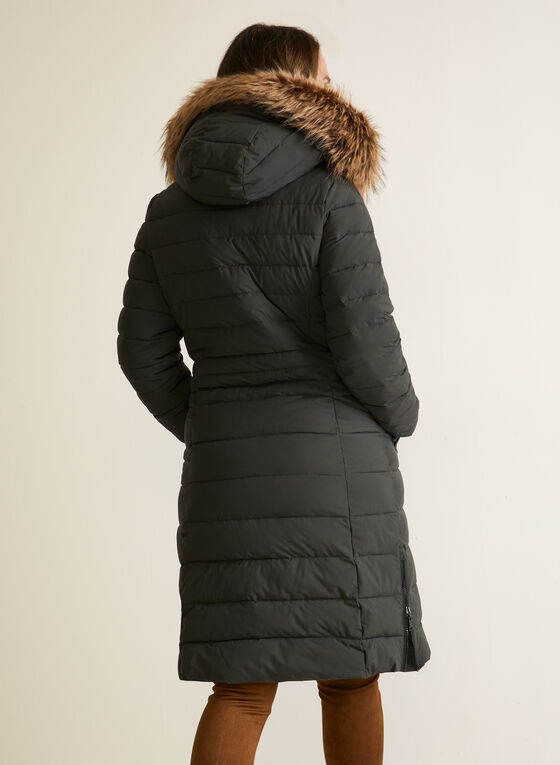 Nuage - Stretch Vegan Down Quilted Coat, Green
