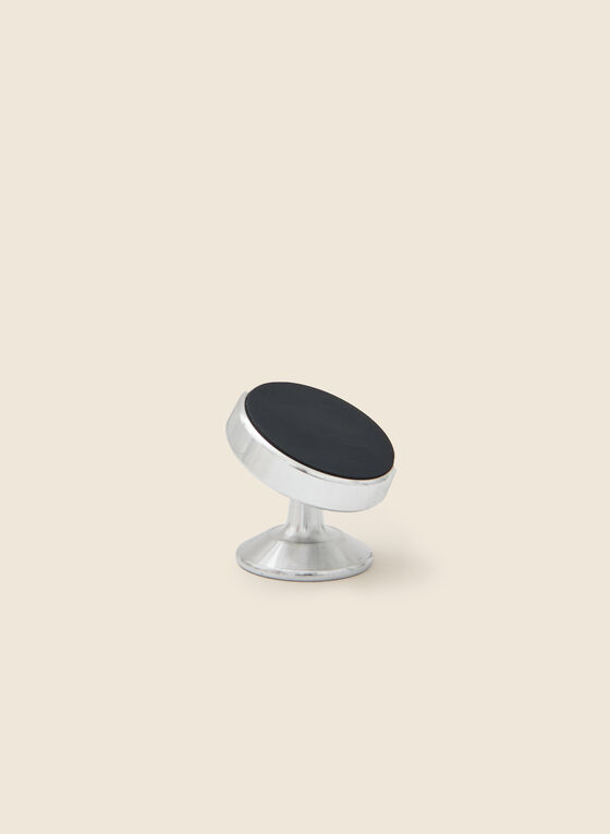 Magnetic Car Phone Mount, Silver