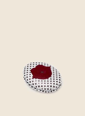 Miroir de poche à motif lèvres, Rouge,  automne hiver 2020, miroir de poche, beauté, accessoires, cadeau, fêtes, fêtes 2020