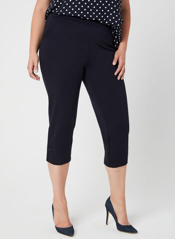 Picadilly - Pull-On Capri Pants, Blue, hi-res,  jersey, spring 2019