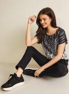 Vex - Soft Knit Top, Black