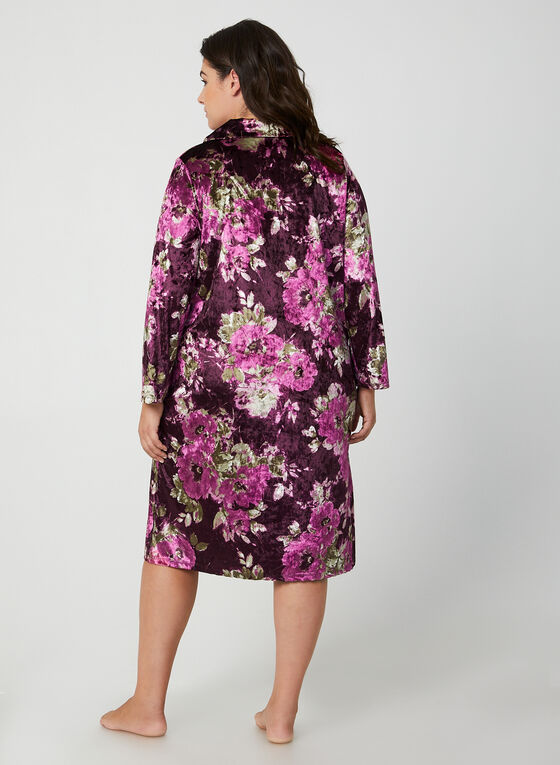 Hamilton - Velour Nightgown, Purple