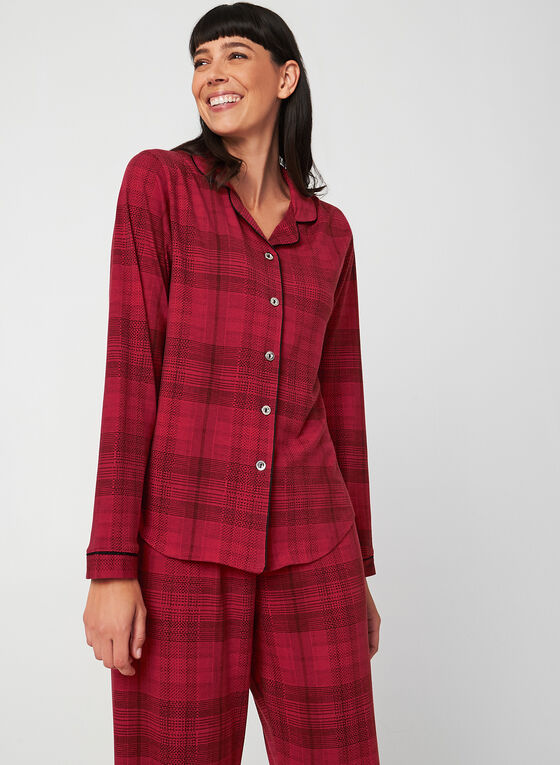 Midnight Maddie - Pyjama Set, Red