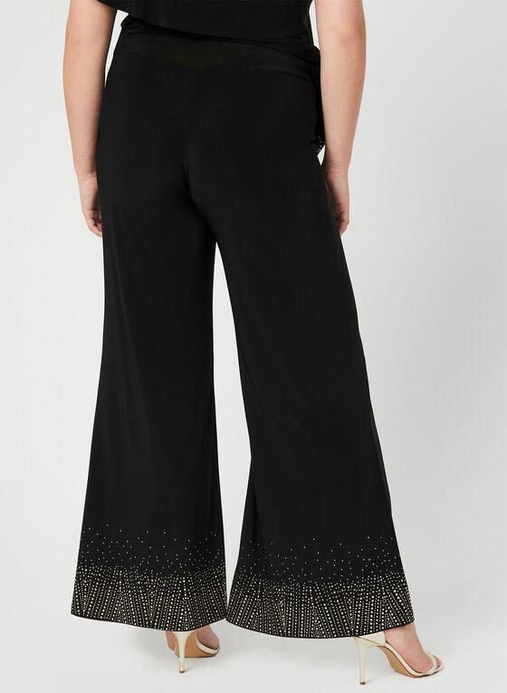 Joseph Ribkoff - Modern Fit Wide Leg Pants, Black, hi-res