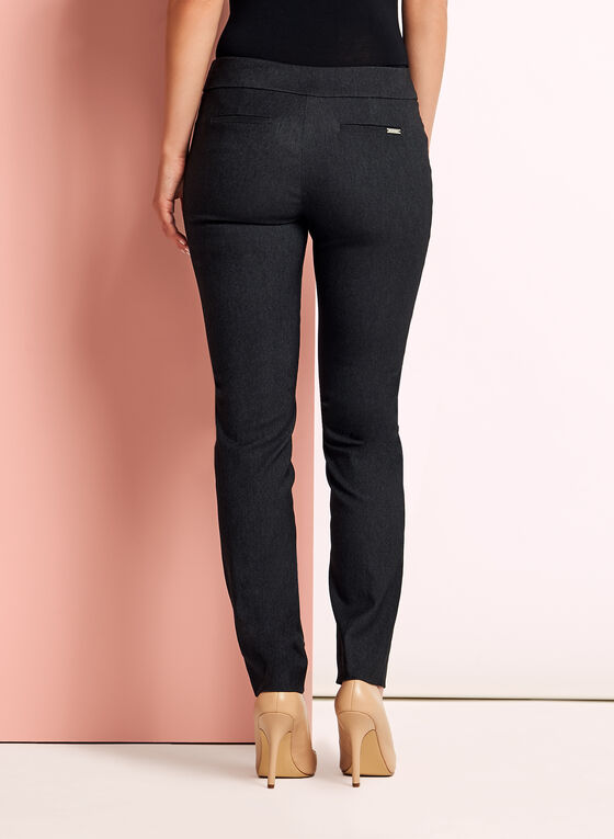 City Fit Straight Leg Pants, Grey, hi-res