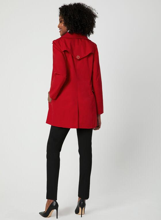 Anne Klein - A-Line Coat, Red, hi-res