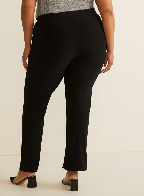 Modern Fit Straight Leg Pants, Black