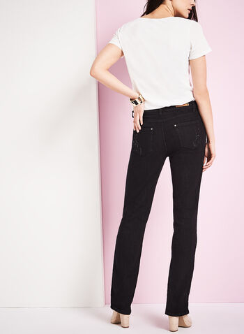 Simon Chang - Straight Leg Jeans, , hi-res