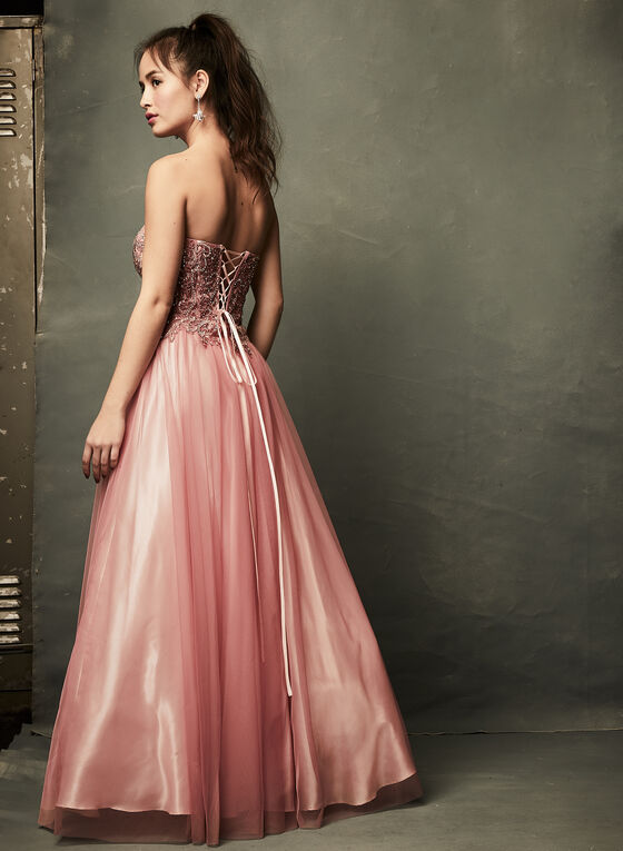 Beaded Corset Ball Gown | Laura