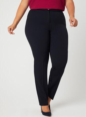 Modern Fit Slim Leg Pants, Blue, hi-res