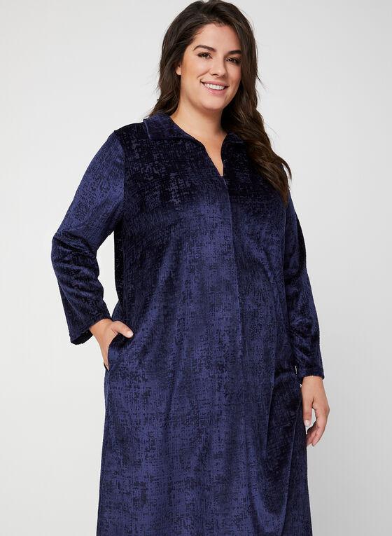 Hamilton - Velour Nightgown, Blue