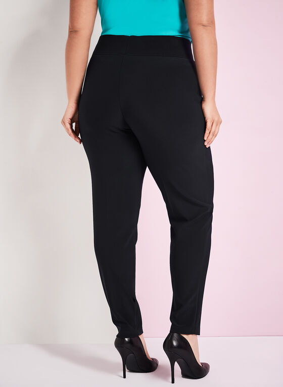 Frank Lyman Straight Leg Pants, Black, hi-res