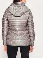 Nuage - Lightweight Packable Down Coat, Off White, hi-res