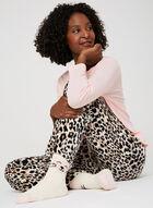 Pillow Talk - 3-Piece Pyjama Set With Socks, Grey, hi-res