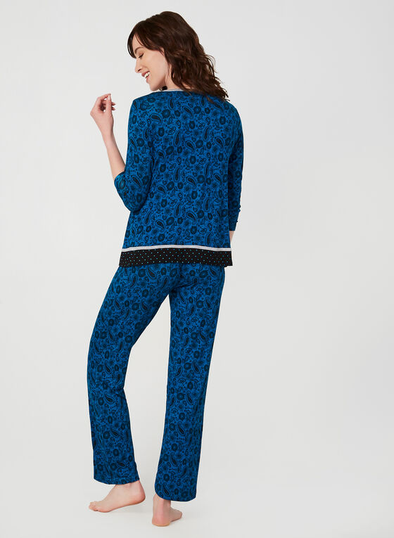 René Rofé - Two-Piece Pyjama Set, Blue