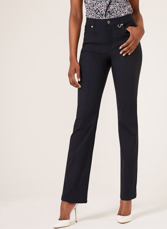 Simon Chang - Signature Fit Straight Leg Pants, Blue, hi-res